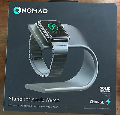 Nomad Stand for Apple Watch, Space Gray NEW in Box