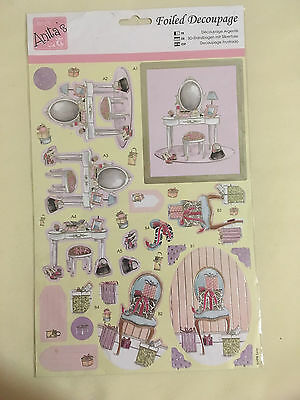 Docrafts Anitas Foiled Decoupage A4