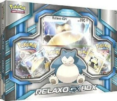 Pokemon Relaxo-GX Box Deutsch
