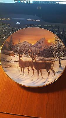 Morning Visitors Decorative plate by Jeff Tift,