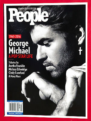 People Commemorative Edition 2017 George Michael 1963 - 2016 BRAND NEW BOOK