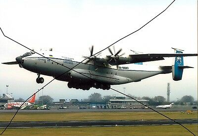 Civil Aircraft Photo Of A Photograph Of An Antonov An-22A Plane Picture,airliner