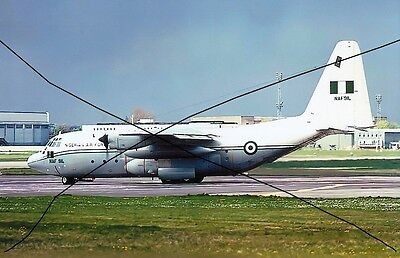 Military Aircraft Photo Photograph, Nigerian Hurcules Plane Picture.