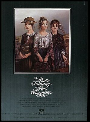 1982 Pati Bannister Mail Order Brides Art Gulfport MS Publishers AD