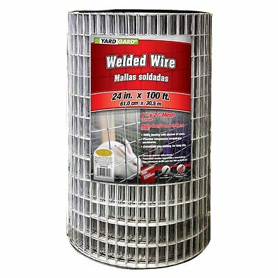 "YARDGARD 24"" x 100 14 Gauge 1"" x 2"" Mesh Galvanized Welded Wire"