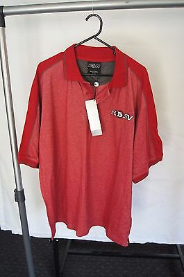 NEW Men's Red Holden Polo Size XXL