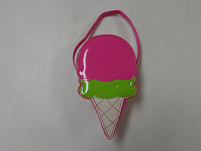Gymboree  Ice Cream Sweetie Cone Shaped Girls  Purse 4 All Ages  Euc