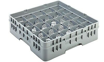 25 Compartment Glass Glassware Rack Tray for Commercial Dishwasher 500 x 500mm