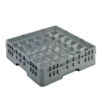 36 Compartment Glass Glassware Rack Tray for Commercial Dishwasher 500 x 500mm