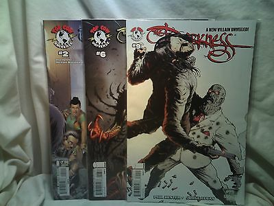 The Darkness 2006 Top Cow Comics Issues 2 6 9