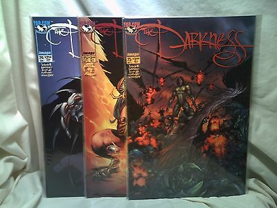 The Darkness 1999 Top Cow Comics Issues 24 25 25