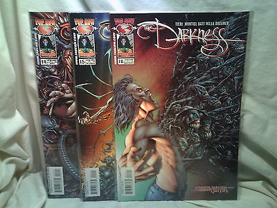 The Darkness 2003 Top Cow Image Comics Issues 14 15 16