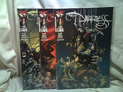 The Darkness 2000 Top Cow Comics Issues 34 35 36