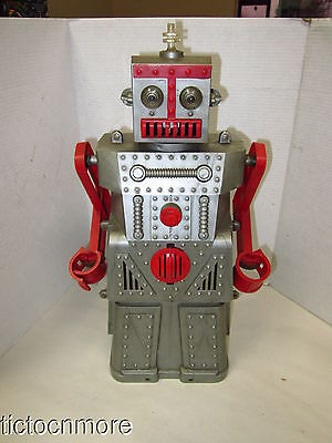 Vintage Ideal Robert The Robot Space Age Mechanical Man  Toy