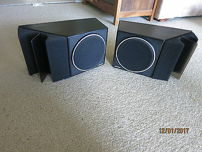 VINTAGE 1982 BOSE 201 DIRECT REFLECTING BOOKSHELF SPEAKERS ..Made in USA