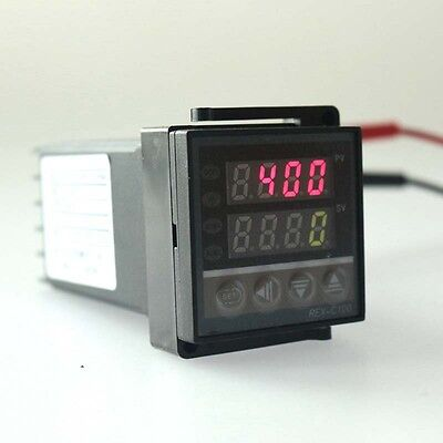REX-C100 PID Temperature Controller AC 100-240V  Universal Input+Relay Output