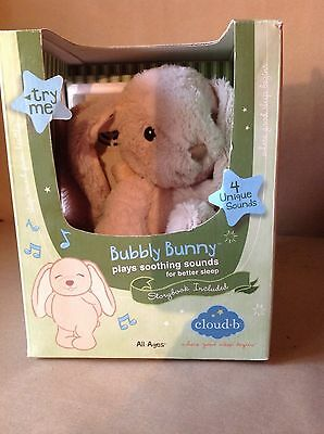 Cloud-b  Bubbly Bunny plays soothing sounds for better sleep