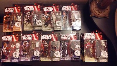 Star Wars The Force Awakens 3.75 Inch Action Figure LOT 11 Figures!!