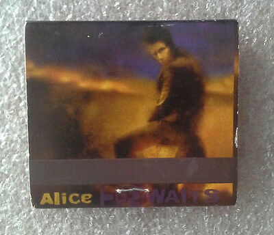 Tom Waits Alice & Blood Money promo matchbook. not vinyl cd orphans heart rsd lp