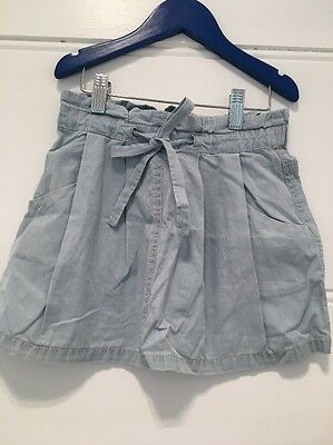 Girls Country Road Chambray Skirt Size 5