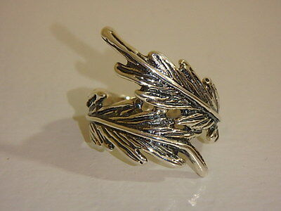 Hagit Gorali Sterling Feather Ring New 7