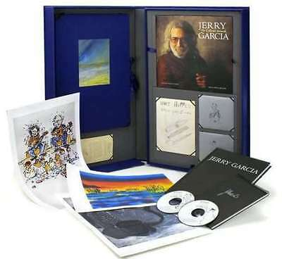 JERRY GARCIA THE COLLECTOR'S EDITION-Book, 2 CDs, 3 Prints-1 Photo-Huge Box Set