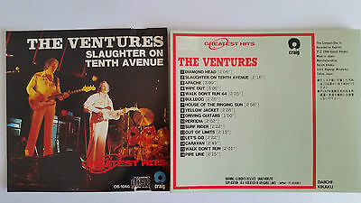 """The Ventures  """" Slaughter On Tenth Avenue""""     Japan  Cd"""