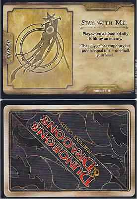Wizards of the Coast Stay with Me D & D Fortune Card PROMO 9