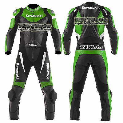 Motorbike Motorcycle track Leather racing 1 & 2 piece Suit custom made