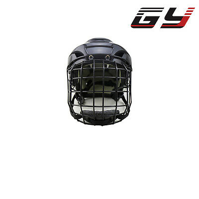 GY Ice Hockey Helmet for Player Cool Black EPP Size M-L