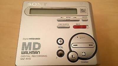 SONY MZ-R70 MINIDISC RECORDER & PLAYER MiniDisk