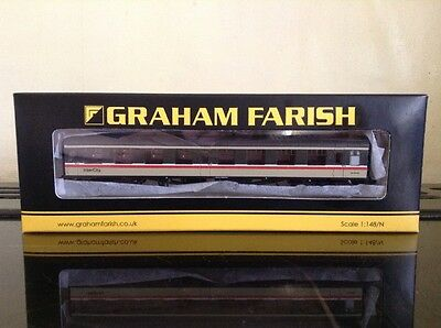 Graham Farish 374-015. Mk1 SO Second Open Coach BR Intercity.  N Gauge.