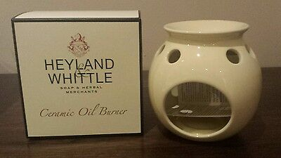 Heyland & Whittle Ceramic Oil Burner (New & Boxed )