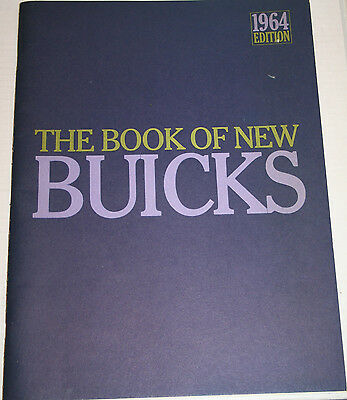 1964 BUICK Full Line Special to Electra 225 Prestige 64 page ORIGINAL Brochure