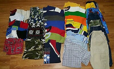 BOYS CLOTHES 32 PC SIZE 6-7 TOP BRANDS  psc 32 All Seasons Fast Delivery