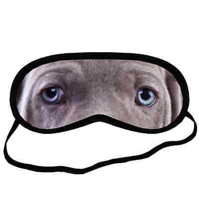 New Adorable WEIMARANER EYES Dog Puppy Lovers Small-Med Size SLEEPING MASK Gift