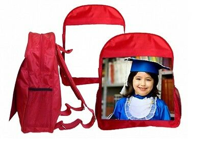 Personalized School Backpack kids school rucksack with personalised image photo