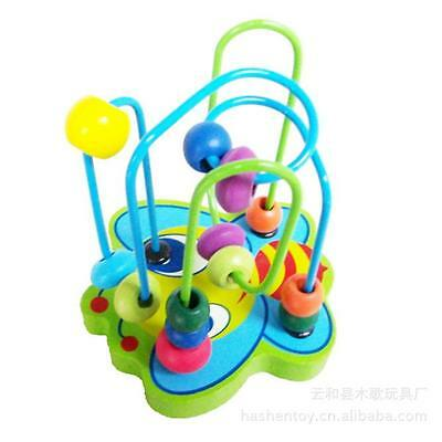 HOT Wooden puzzle toys around the bead toy animal small beads