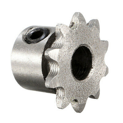 Bore 10 Teeth 10T Metal Pilot Motor Gear Roller Chain Drive Sprocket 8mm