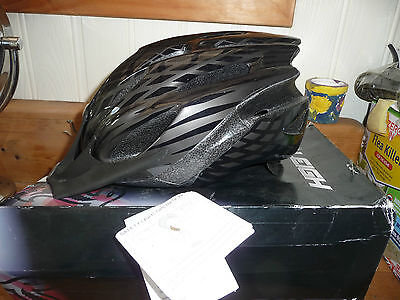 """RALEIGH """"MISSION"""" CYCLE HELMET MEDIUM 54-58cm BOXED NEW see details"""