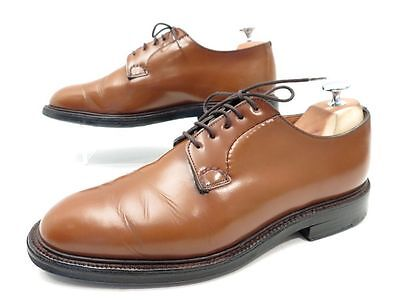 Chaussures Church's Shannon 8F 42 Derby En Cuir Marron Brown Leather Shoes 690€