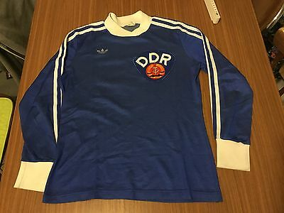 Vintage Adidas DDR Trikot/Jersey - Made in England Nr.3 RARE Collectors Item