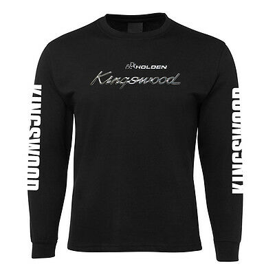 New Black Classic Holden Kingswood LS T Shirt 100% Cotton Size S -3XL