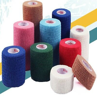 Elastic Stickers Tape Care Physio Therapeutic Tape 1 Roll Kinesiology Sports