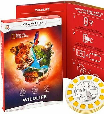 View-Master Experience Pack: Wildlife Smartphone Virtual Reality **NEW** Listed