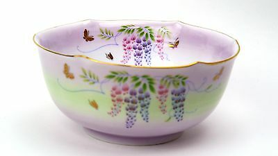 "NEW!! Japan Porcelaine Dishwasher Safe Floral Design ""UTSUWA KOBO"" Serving Bowl"