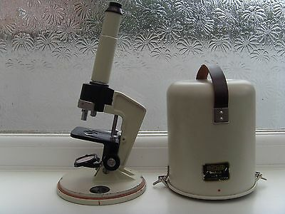 Collectable Meopta Praha Vintage Cased Field Microscope Microscopy Lens