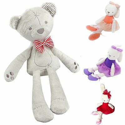 Lovely Soft Bunny Teddy Bear Plush Toys Stuffed Animals Doll for Baby Kids Gift