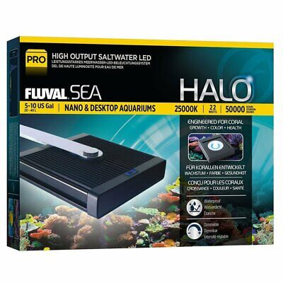 HALO Hochleistungs-Nano-Led-Lampe Marine and Reef von Fluval