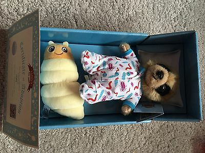 baby oleg meerkat, Unused, Still Attached To The Box, With Certificate.